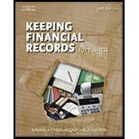 Working Papers Chapters 10-16 for Kaliski/Schultheis/Passalacqua s Keeping by Kaliski