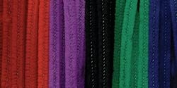 Chenille Stems 6Mm 12-Inch, 100/Pkg, Jewel front-137695