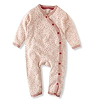 Autograph Pure Cotton Animal Print Onesie