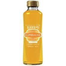Reed'S Kombucha - Organic & Raw, Passion Mango Ginger - Long Aged (Beneficial Enzymes & Probiotics), Buy Twelve And Save Per Bottle, Each Bottle Is 13.5 Oz (Pack Of 12)