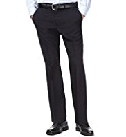 Big & Tall Active Waistband Crease Resistant Flat Front Trousers