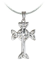 Medium Celtic Cross Necklace (length: 16