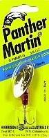Panther Martin Metallic Spinners (Metallic Red/Gold, Size 9 hook)