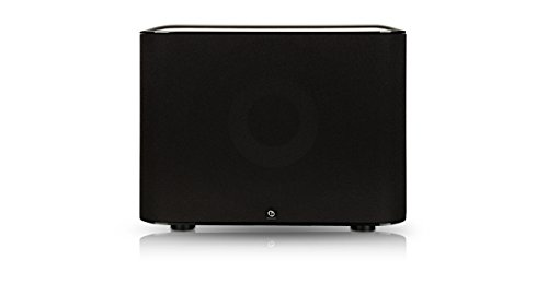 Boston Acoustics Msub 10-Inch Msubwoofer, Black