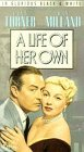 A Life of Her Own [VHS]