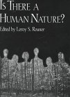img - for Is There a Human Nature (Boston University Studies in Philosophy and Religion) book / textbook / text book