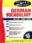 Schaum's Outline of German Vocabulary (0070691282) by Edda Weiss
