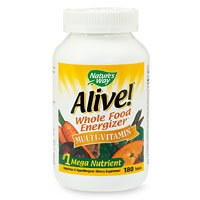 Nature's Way Alive! Multivitamin, 180 Tablets