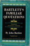 img - for Bartletts' Familiar Quotations book / textbook / text book