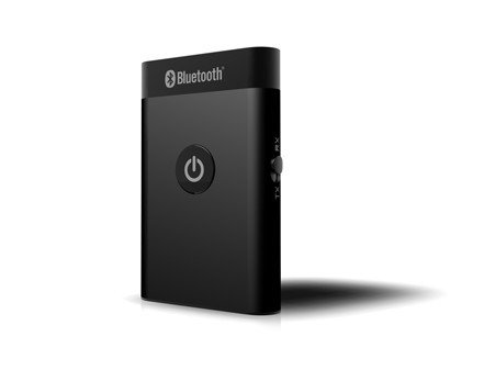 Wci 2-In-1 Bluetooth Audio Music Streaming Receiver And Transmitter With 3.5Mm Stereo Output - Connect Your Pc, Iphone, Ipod, Ipad, Tablets Or Mp3 Player To Speakers And Entertainment Systems, Home Or Car