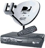 Hughes HSYS-E8674 Platinum HD High-Definition DIRECTV Satellite System