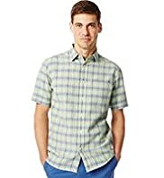 Modal Blend Soft Touch Graded Checked Shirt