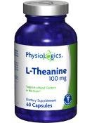 Physiologics - L-Theanine 100 Mg 60 Caps
