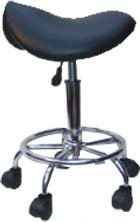 Therapists Gas Lift Saddle Stool - Ergonomic Design