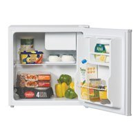 LEC R50052W Free Standing Table Top Fridge (with icebox) in White, 'A+' energy efficiency rating