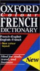 img - for Oxford Colour French Dictionary book / textbook / text book
