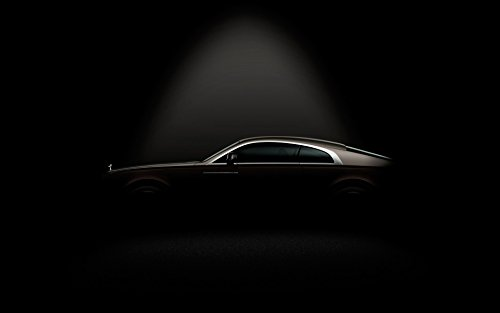 2014 Rolls Royce Wraith Silk Wall Art Poster Print - 20x30 inch (50x75cm) (Rolls Royce Poster compare prices)