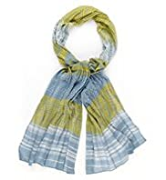 Per Una Woodblock Print Scarf