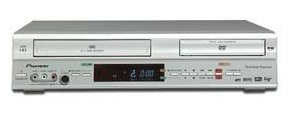 Pioneer DVR-RT300-S DVD Recorder and VCR Combo
