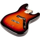 Fender USA Jazz Bass Body (Modern Bridge) - 3-Color Sunburst