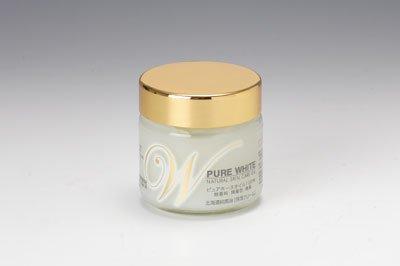 北海道純馬油本舗 ピュアホワイトQ10 保湿クリーム 無香料 65g 1個セット