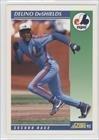 1992 Score # 16 Delino DeShields Montreal Expos Baseball Card