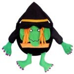 8-inch Kids Halloween Witch Trick/Treat Candy Bag thumbnail