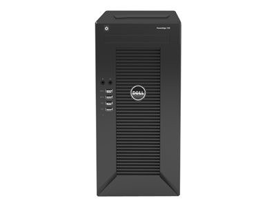 Dell PowerEdge T20 Mini Tower Server - Server - MT - 1-way - 1 x Xeon E3-1225V3 / 3.2 GHz - RAM 4 GB - non-hot-swap - HDD 1 TB - GigE - no OS - Monitor : none.