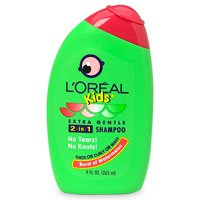 Deals L'Oreal Paris Kids 2-in-1 Shampoo for Thick,Curly or Wavy Hair, Watermelon, 9-Fluid Ounce