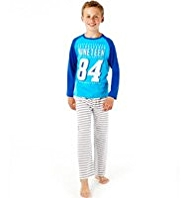 Pure Cotton Sporty Pyjamas