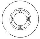 MAPCO Brake Discs (15500) - (Set of 2)