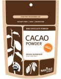 Navitas Naturals, Raw Chocolate Powder, Organic, 16-Ounce Pouches (Pack of 1)