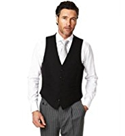 Sartorial Pure Wool 5 Button Wedding Waistcoat