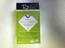 Touch Organic Mild Mint Green Tea with Peppermint (24 Bags) mint planner