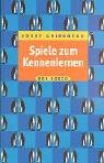 Spiele zum Kennenlernen - Josef Griesbeck