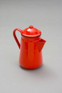 Falcon Enamel 13cm Coffee Pot - Red
