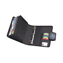Case-it Universal 2-Inch 3-Ring Zipper Binder, Holds 13 Inch Laptop, Neon Green (LT-007-NeoGrn)