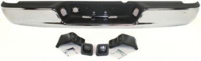 Evan-Fischer EVA17472038178 Step Bumper Rear Steel Chrome With 4 brackets (2008 Dodge Ram Bumper compare prices)