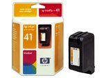 Hewlett Packard [HP] No. 41A Inkjet Cartridge Page Life 460pp 40.5ml Tri Colour Ref 51641A