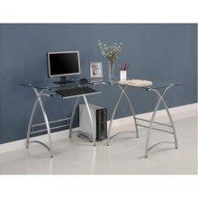 Buy Low Price Comfortable Glass L-Shaped Computer Desk – Walker Edison D51AL30 (B005LWN6LW)