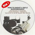How to Shoot a Rifle Pistol Firearm Marksmanship M1Garand Sniper Manual Video CD