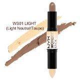 NYX Wonder Stick Highlight & Contour Stick color WS01 Light / Medium 0.14oz