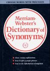Websters New Dictionary of Synonyms: A Dictionary of Discriminated Synonyms with Antonyms and Analogous and Contrasted Words