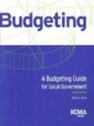 A Budgeting Guide for Local Government (Municipal...