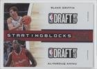 Buy Blake Griffin Al-Farouq Aminu Los Angeles Clippers (Basketball Card) 2010-11 Playoff Contenders Patches Starting Blocks... by Playoff Contenders Patches
