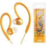 Jvc Haebx5Dn Sport-Clip Headphones, Orange