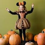 Disney Store Minnie Mouse Pumpkin Halloween Costume xxs 2 3 Picture