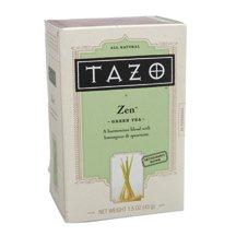 Tazo zen green tea with lemongrass & spearmint