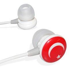 Écouteurs intra-auriculaires aux couleurs de la Turquie