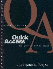 Quick Access Reference for Writers (0131018825) by Lynn Quitman Troyka